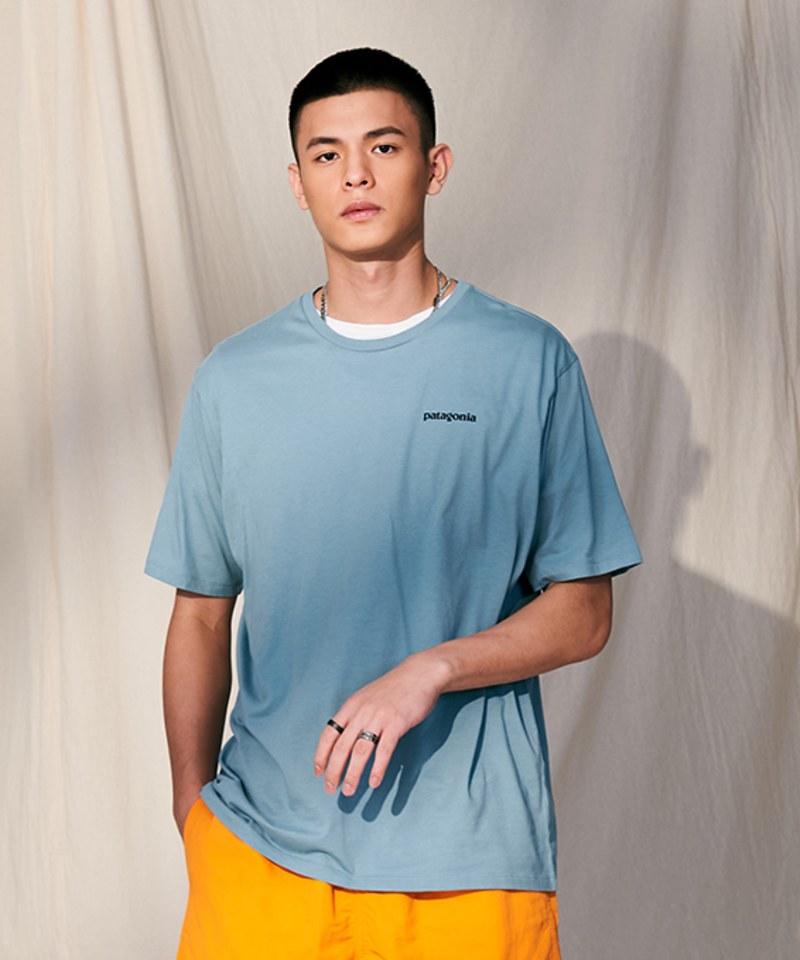 PTG0025 短袖有機棉TEE M's Fitz Roy Fish Organic T-Shirt