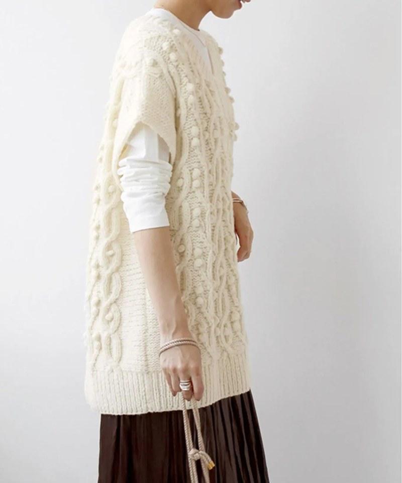 RLMW0501 爆米花羊毛背心