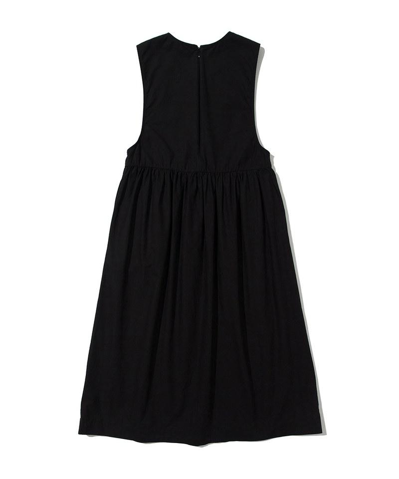 SOTW4101 棉質套頭洋裝 SLEEVELESS ONE-PIECE