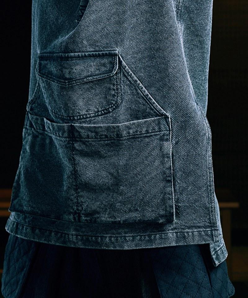 SYN0243 WORKMAN APRON SHIRT 刺子圍裙襯衫