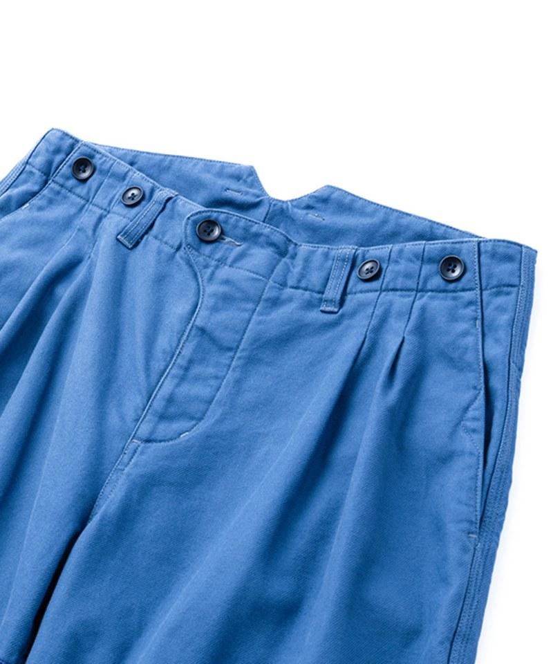 SYN1625 THE WIDE ONES WORK SLACKS 斜紋寬鬆工作褲
