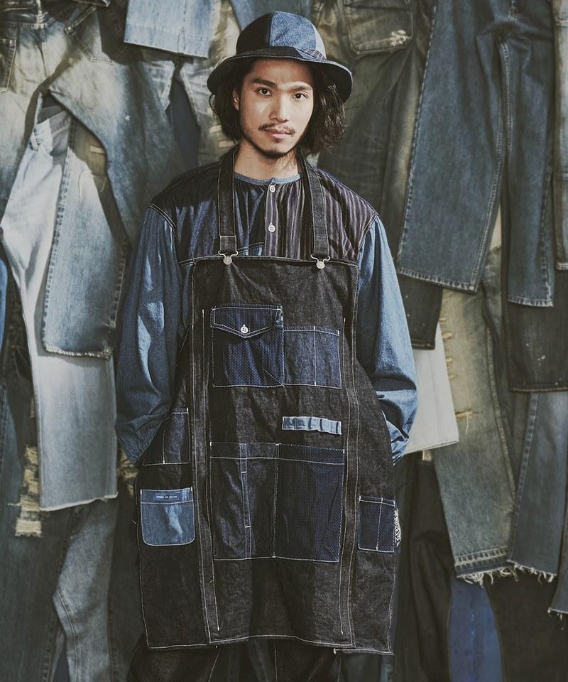 SYNDRO x plain-me REDEAR 2-WAY APRON 圍裙