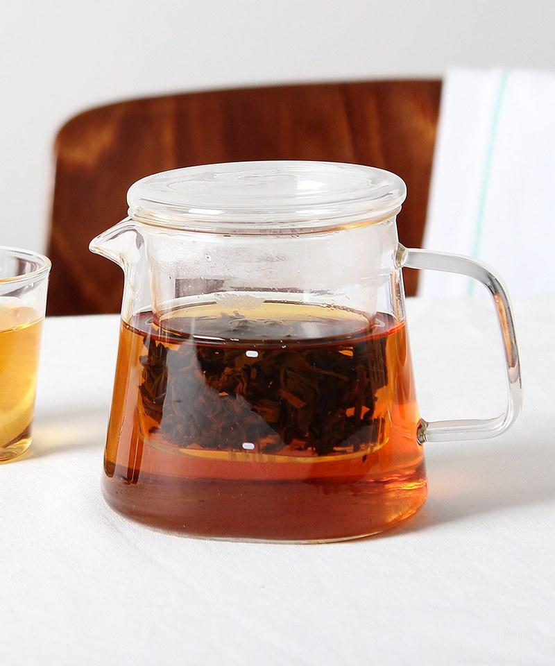 DRIPDROP/TEAPOT玻璃茶隔茶壺組380ml