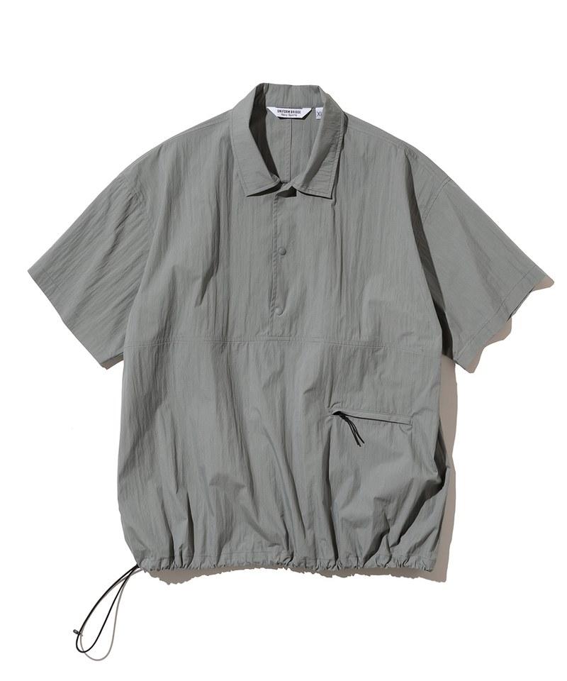 套頭口袋短袖襯衫 pullover pocket s/s shirts