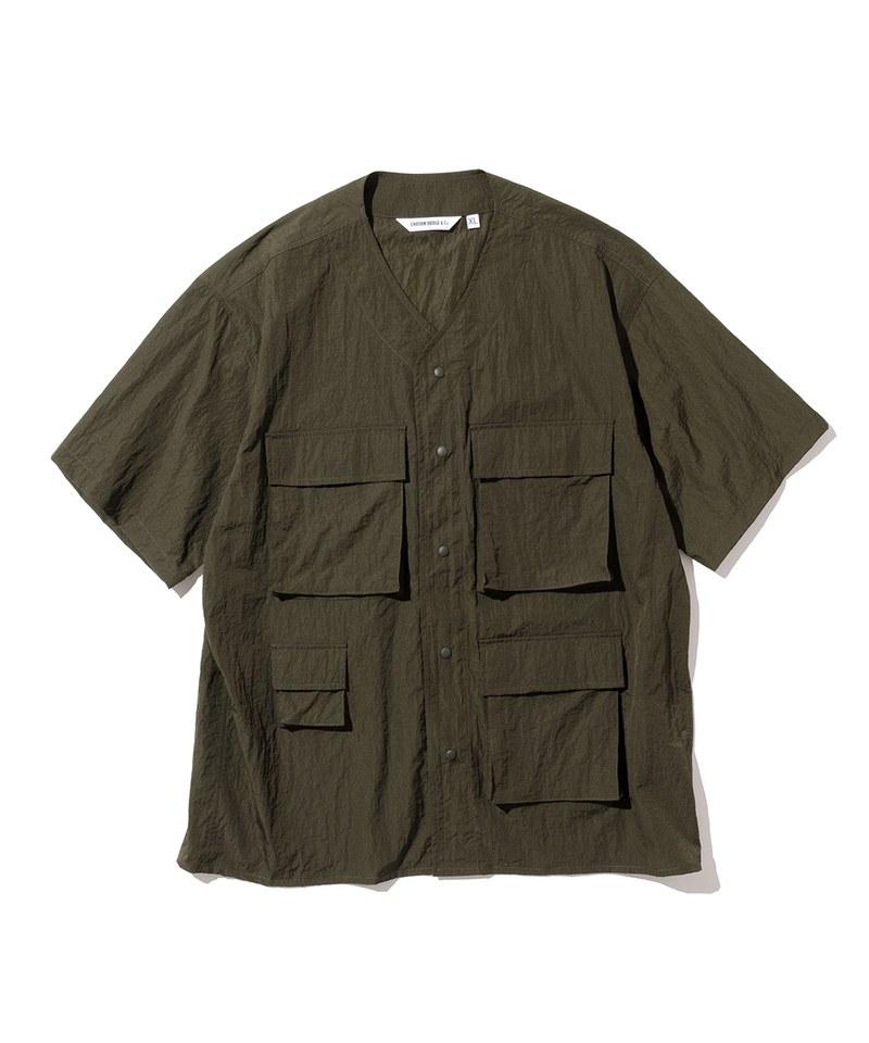 UNB0216 開襟短袖襯衫 cardigan s/s shirts