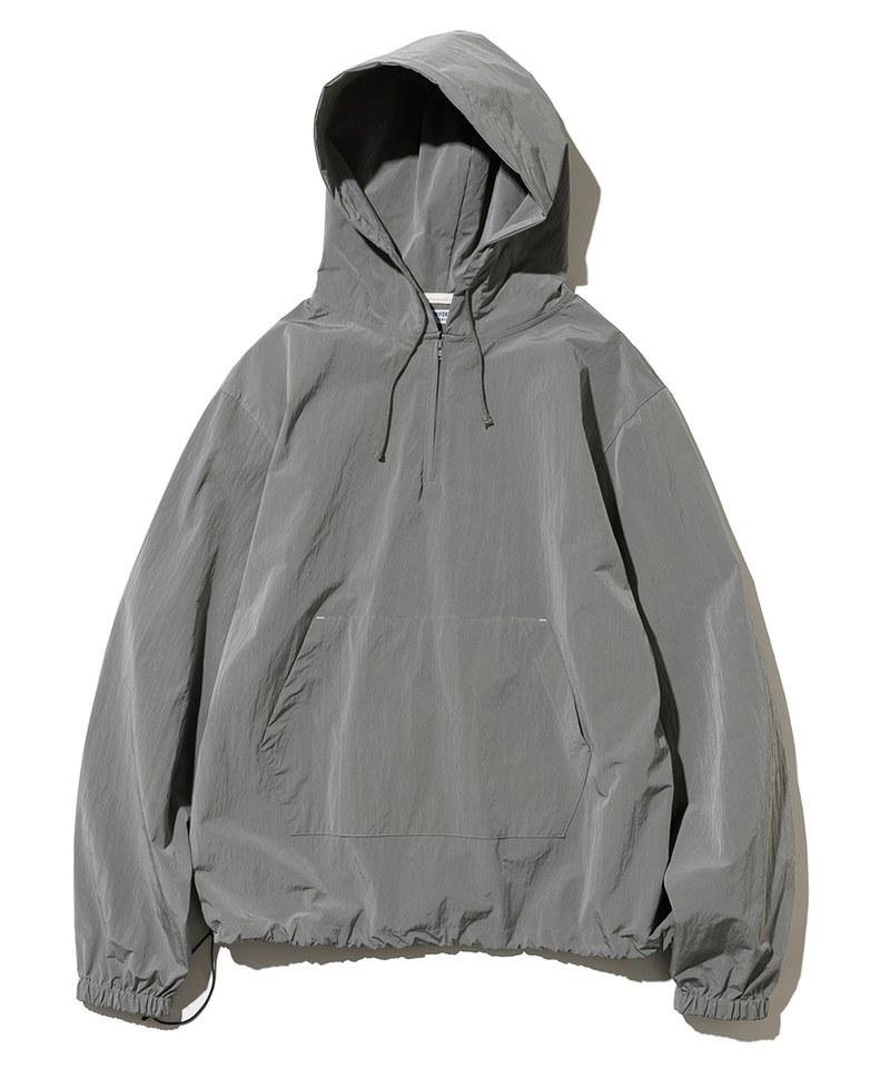 half zip up hoodie 連身帽TEE