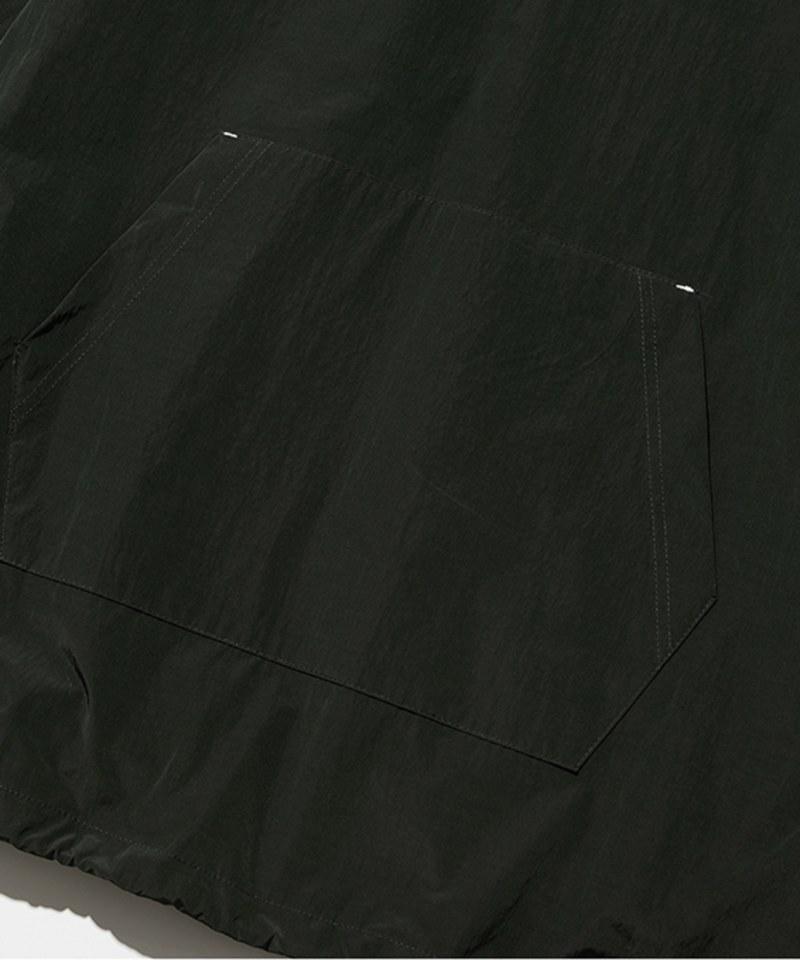 UNB0704 half zip up hoodie 連身帽TEE