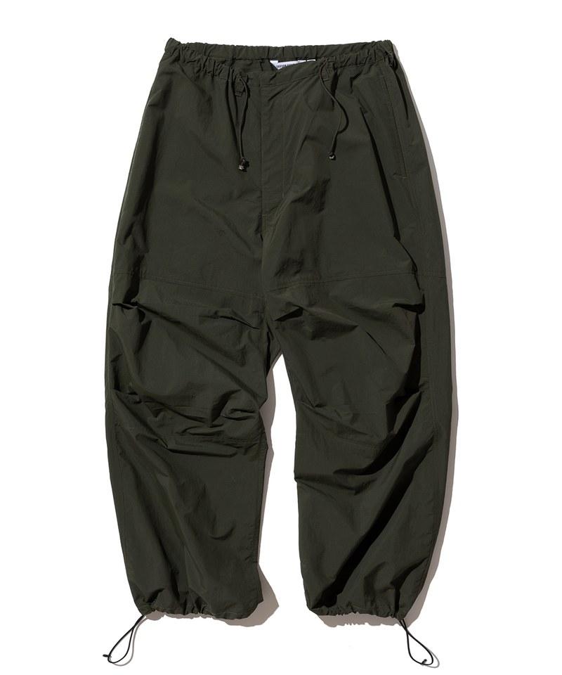 寬鬆尼龍訓練長褲 relax training pants