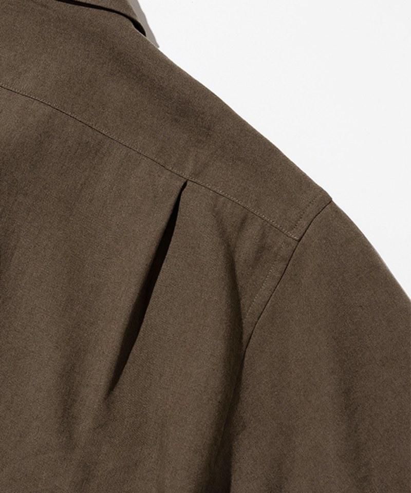 UNBW0205 女款亞麻短袖襯衫 linen standard short shirts