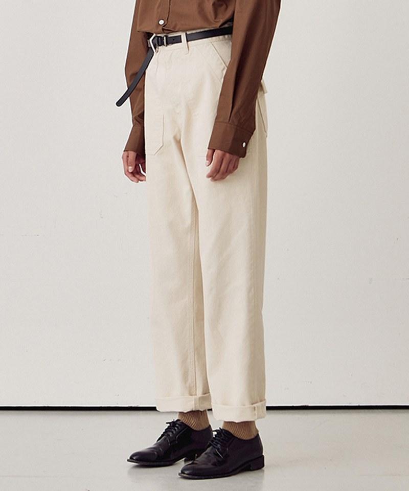 Cotton Fatigue Pants Regular Fit 女款棉質軍褲