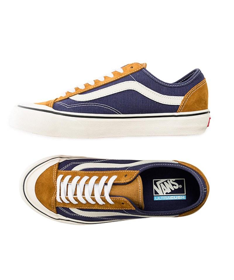 VANS19104 Style 36 Decon SF Salt Wash 滑板鞋