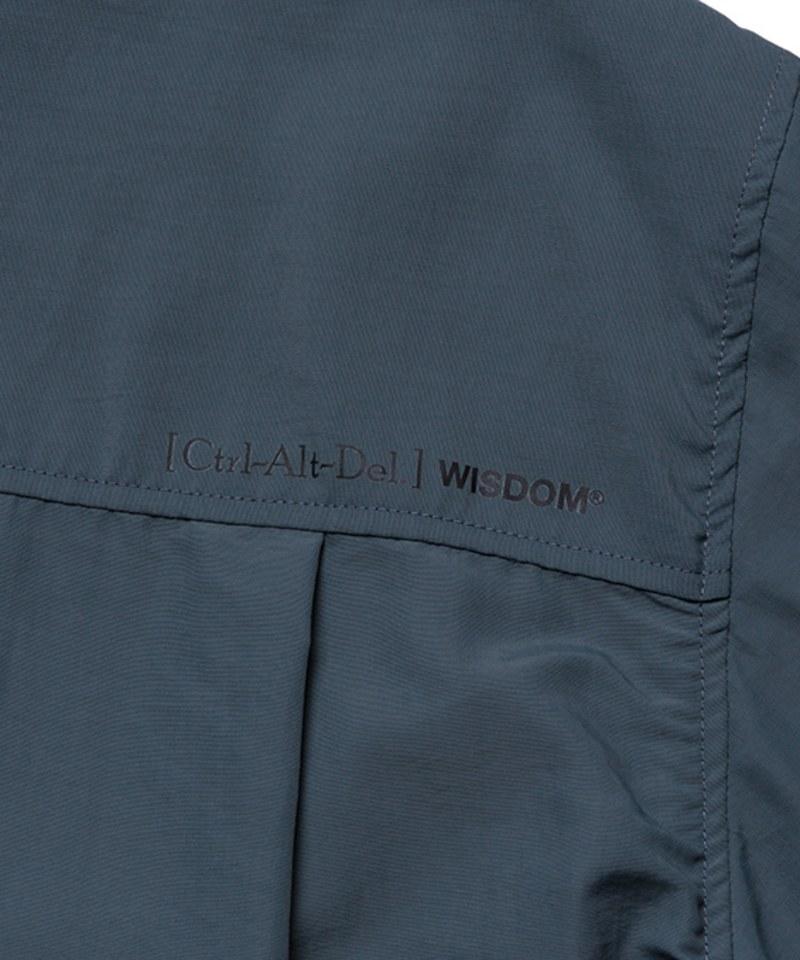 WDM0257 WISDOM x plain-me Ctrl Alt Del Multi-Pockets Shirt 多口袋襯衫