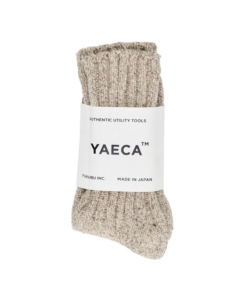 YCA2906 10952 COTTON SILK SOCKS 厚織羅紋中筒襪