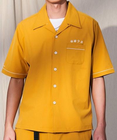 CRV3316 拍謝少年 x plain-me 虱目魚開襟襯衫
