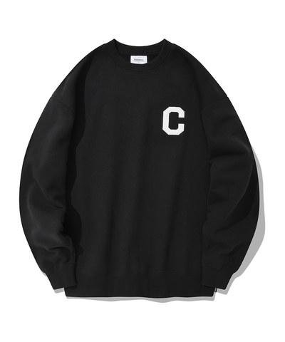 圓領衛衣 c logo crewneck