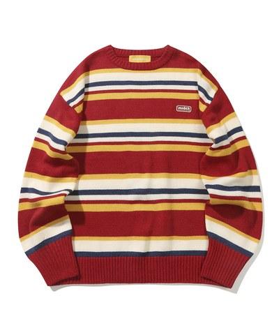 條紋針織毛衣 Jellybean Sweater