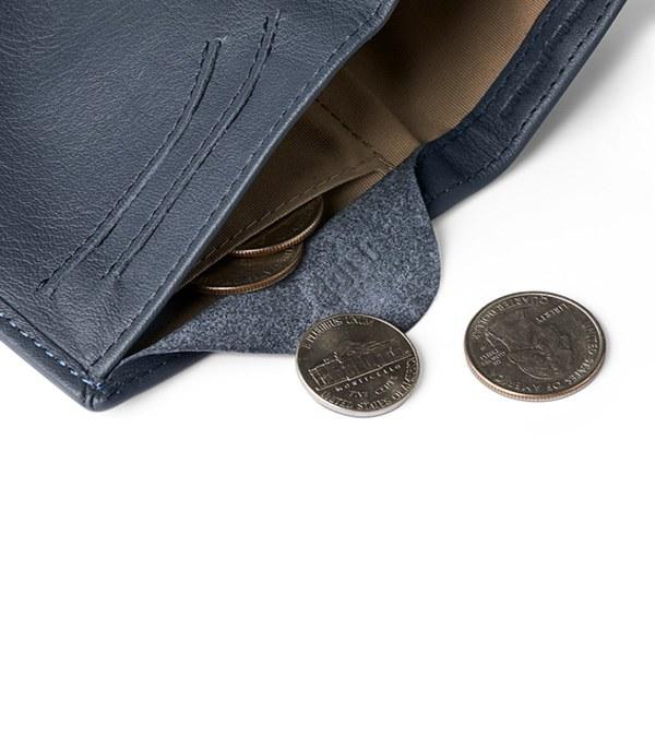 BRY3061 Note Sleeve Wallet 直式真皮皮夾 (RFID) HeiQ V-Block™ 抗菌款