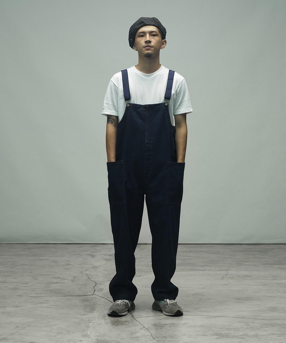 CKM1604 Fisherman's Bib Overall Pants 漁夫吊帶褲