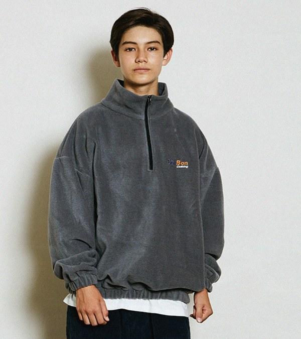 CNB0001 EXPRESS FLEECE ZIP 刷毛套頭衫