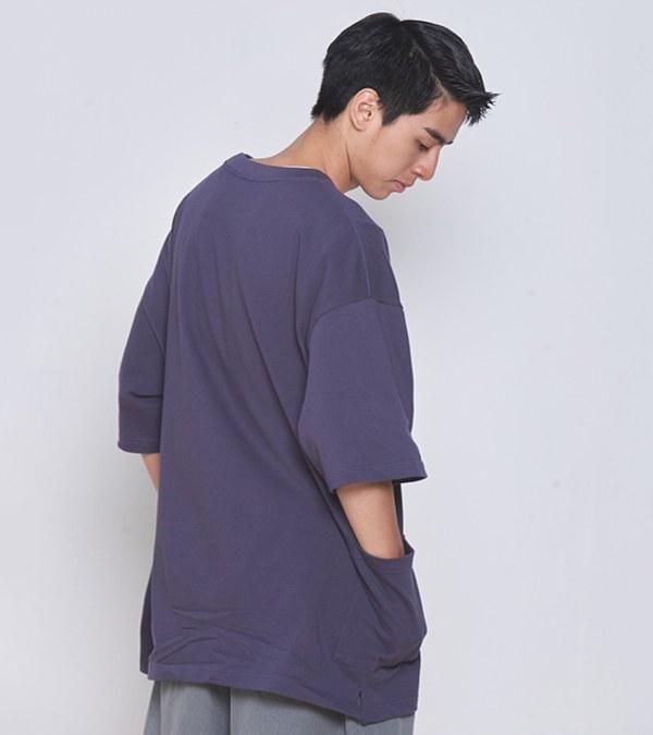COP0050 雙口袋寬版TEE