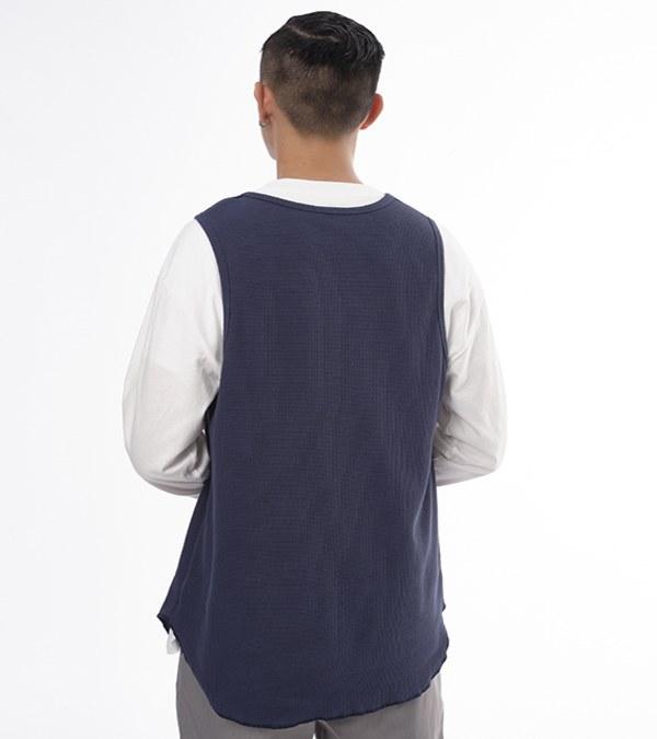 COP0168 華夫格寬肩背心