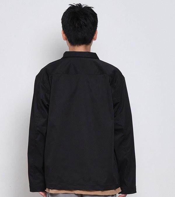 COP11108 防潑水開領釦式外套