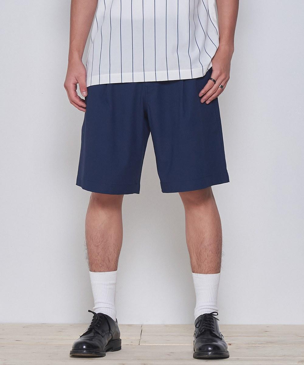 COP1737 棉麻混紡吸濕快乾短褲