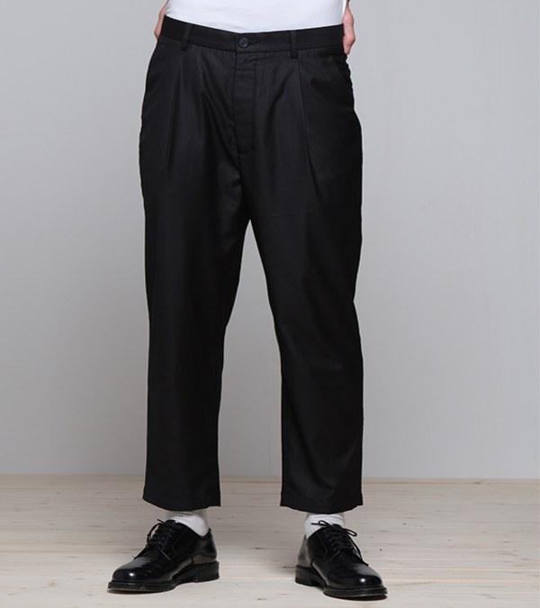 COP3579 修身打褶錐形褲