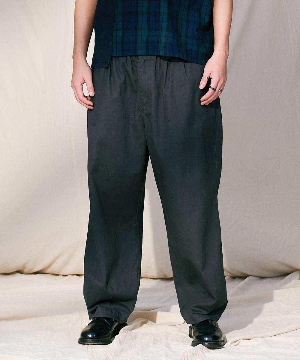 COP4067 斜紋棉質氣球寬褲