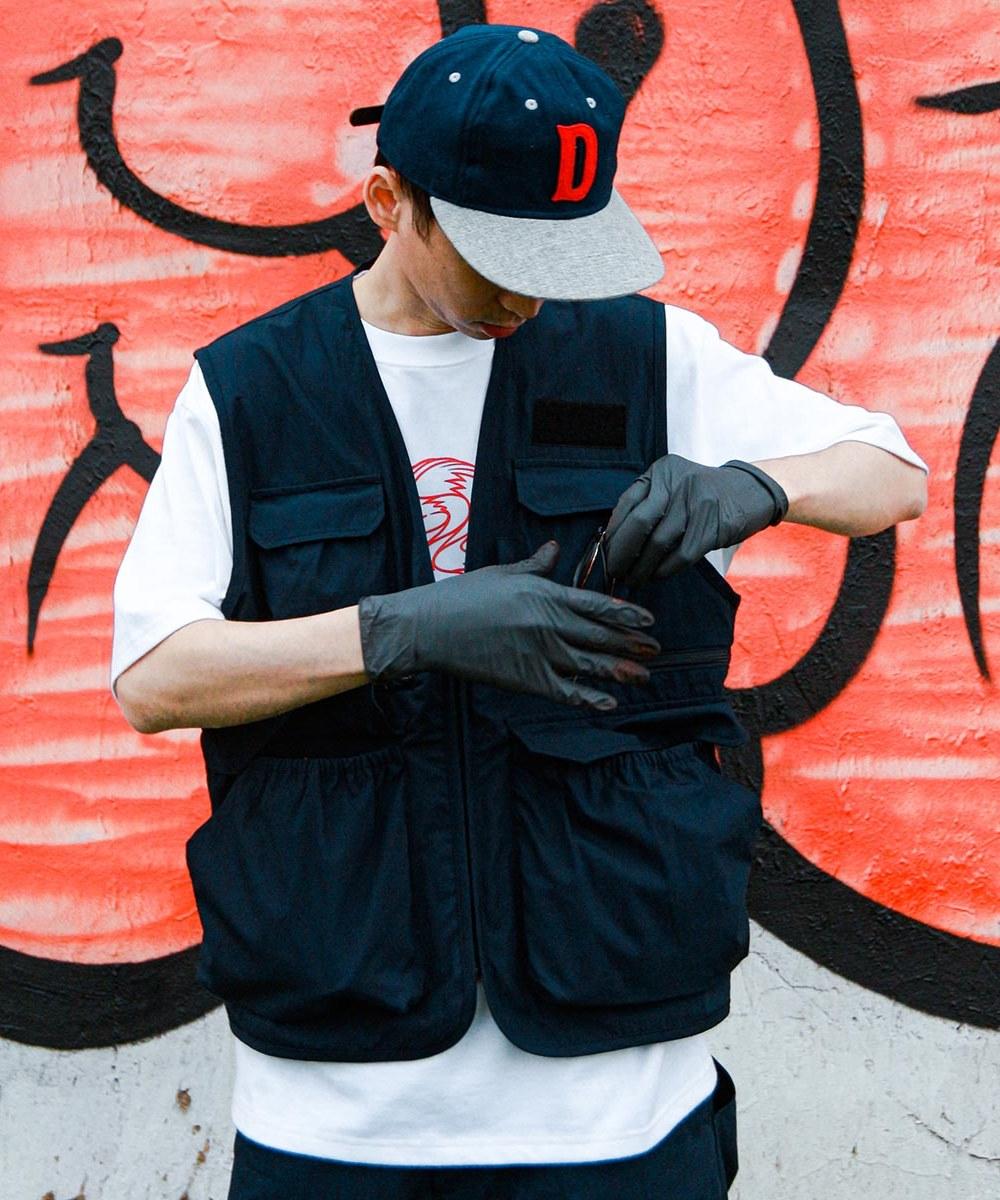 CRV0505 Reach x plain-me 防潑水多口袋背心