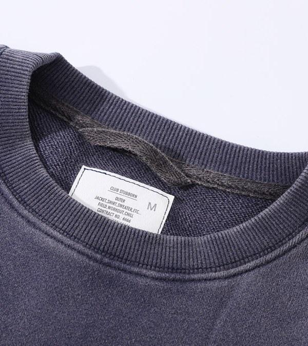 CSB0003 Old Man Fatigue Sweater 拼接衛衣