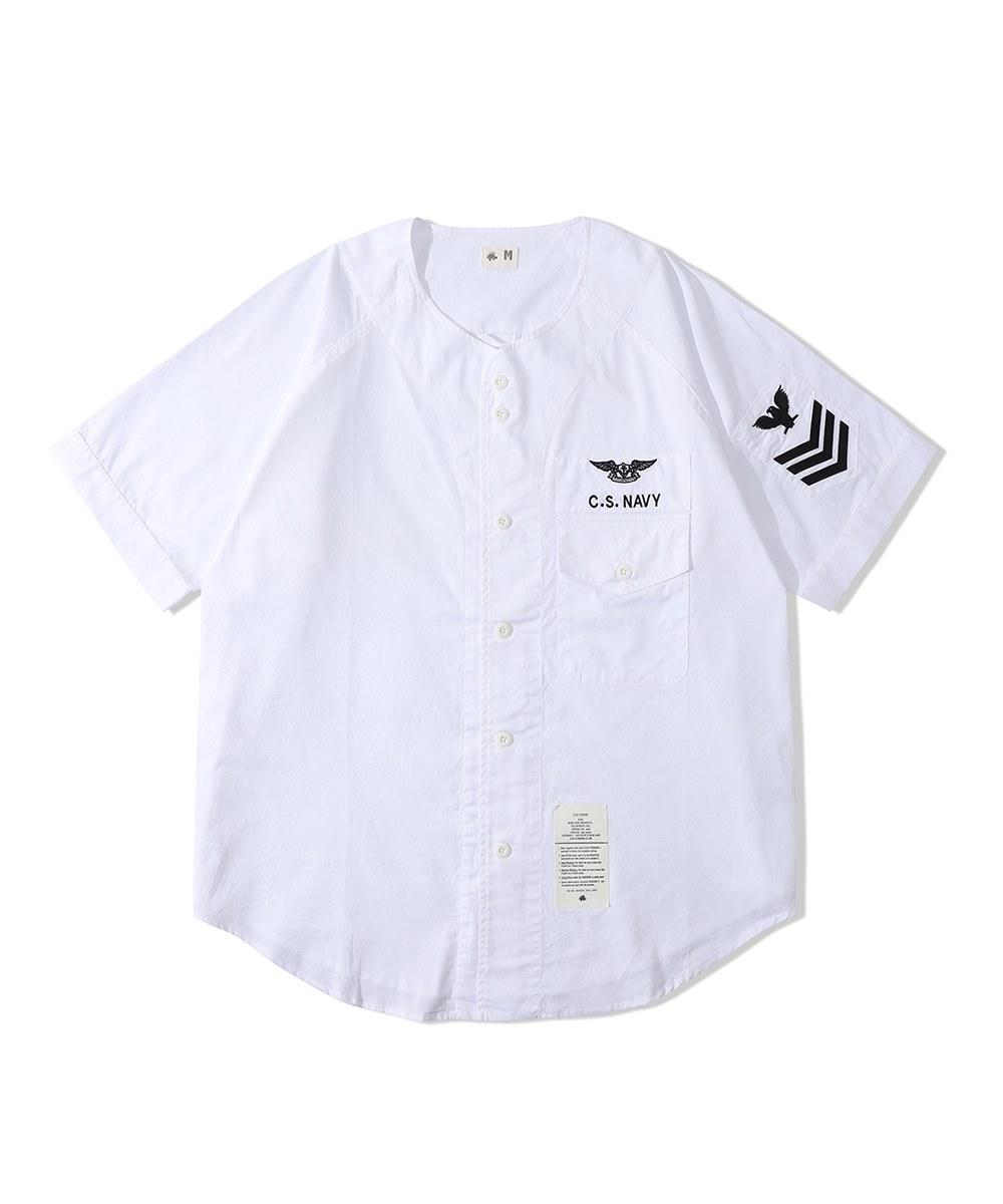 CSB0210 棒球上衣 Navy Baseball shirt