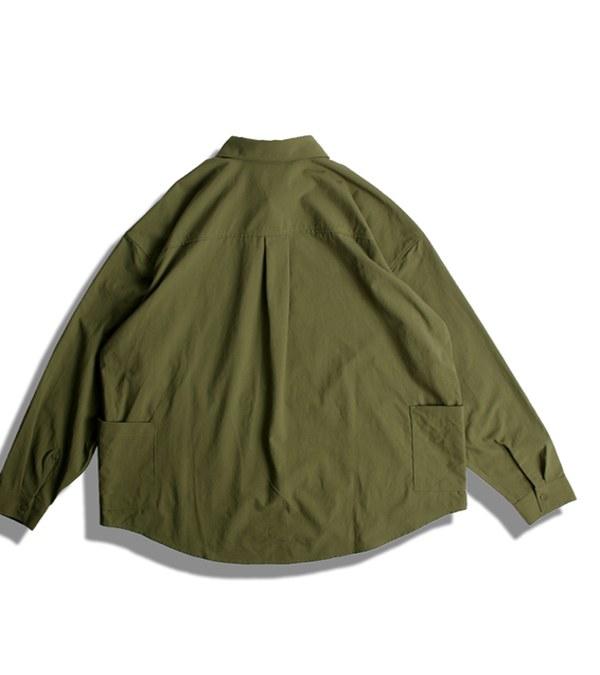 DRN0204 WAX O.X CAMP SHIRTS L/S 露營襯衫
