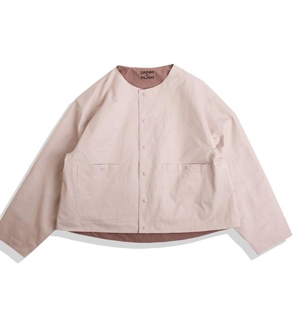 DRN1103 DRNM for PLNM No Collar Jacket 聯名無領外套
