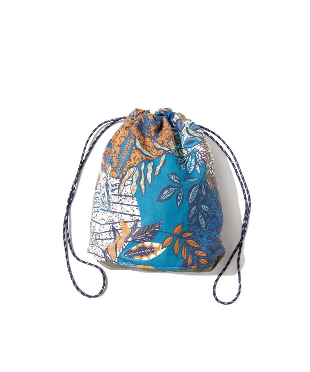 FCE3093 印花拉繩包(小) FLORAL PRINT PURSE BAG S