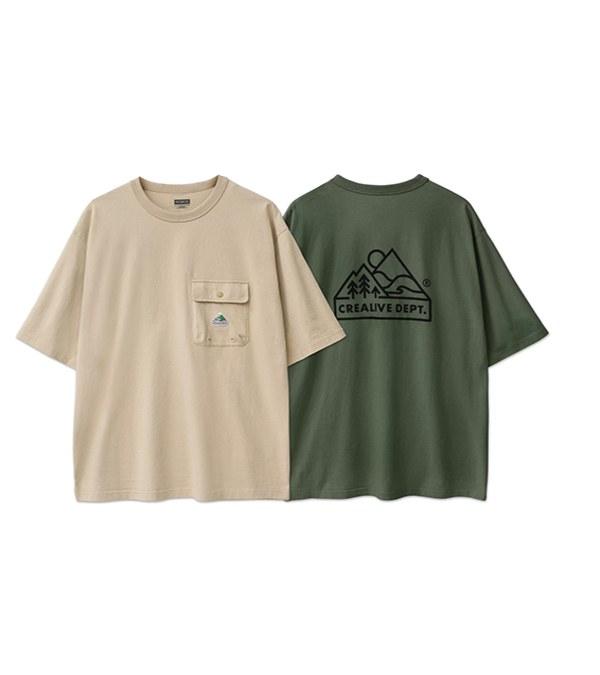 FLT0102 山標口袋短TEE