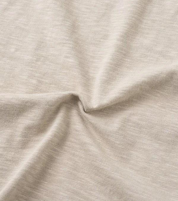 FLT0104 獾標誌竹節棉口袋短TEE