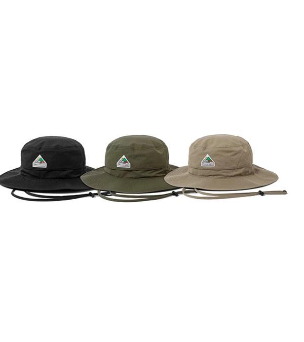 FLT2301 CREALIVE DEPT. Mountain Peak Logo Boonie Hat 山峰標誌機能登山戰術帽