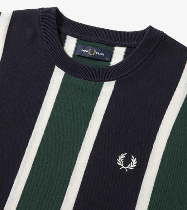 FRP0007 F3226 KNITTED TEE 直條紋針織上衣