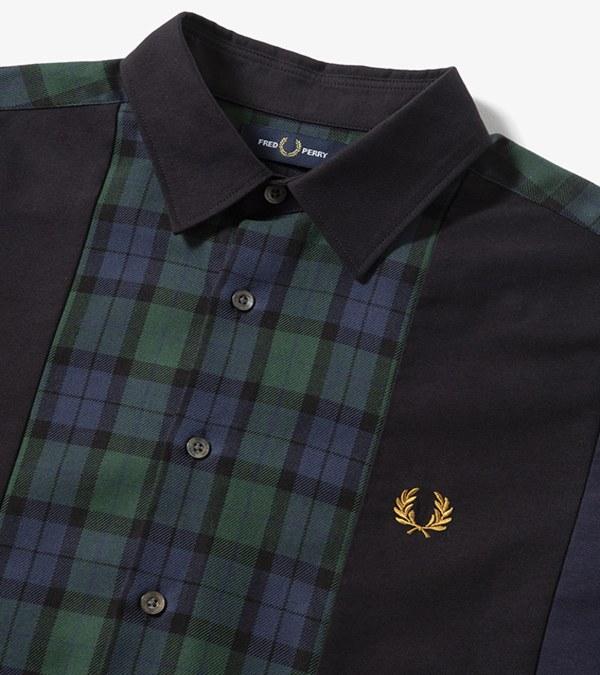 FRP0207 F4571 PANELLED SHIRT 拼接襯衫