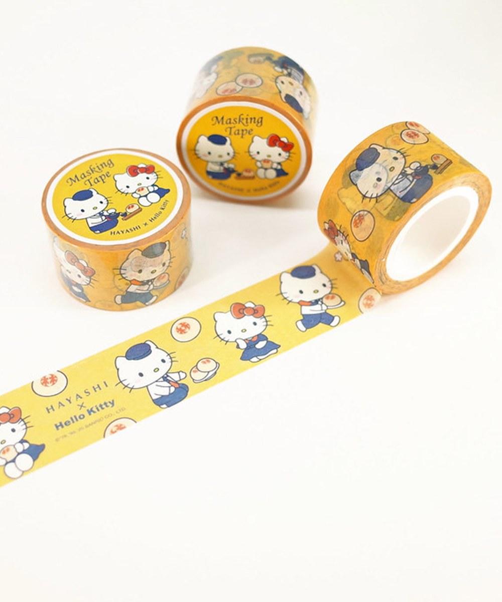 HYS9904 椪餅好食光紙膠帶-林百貨xHello Kitty