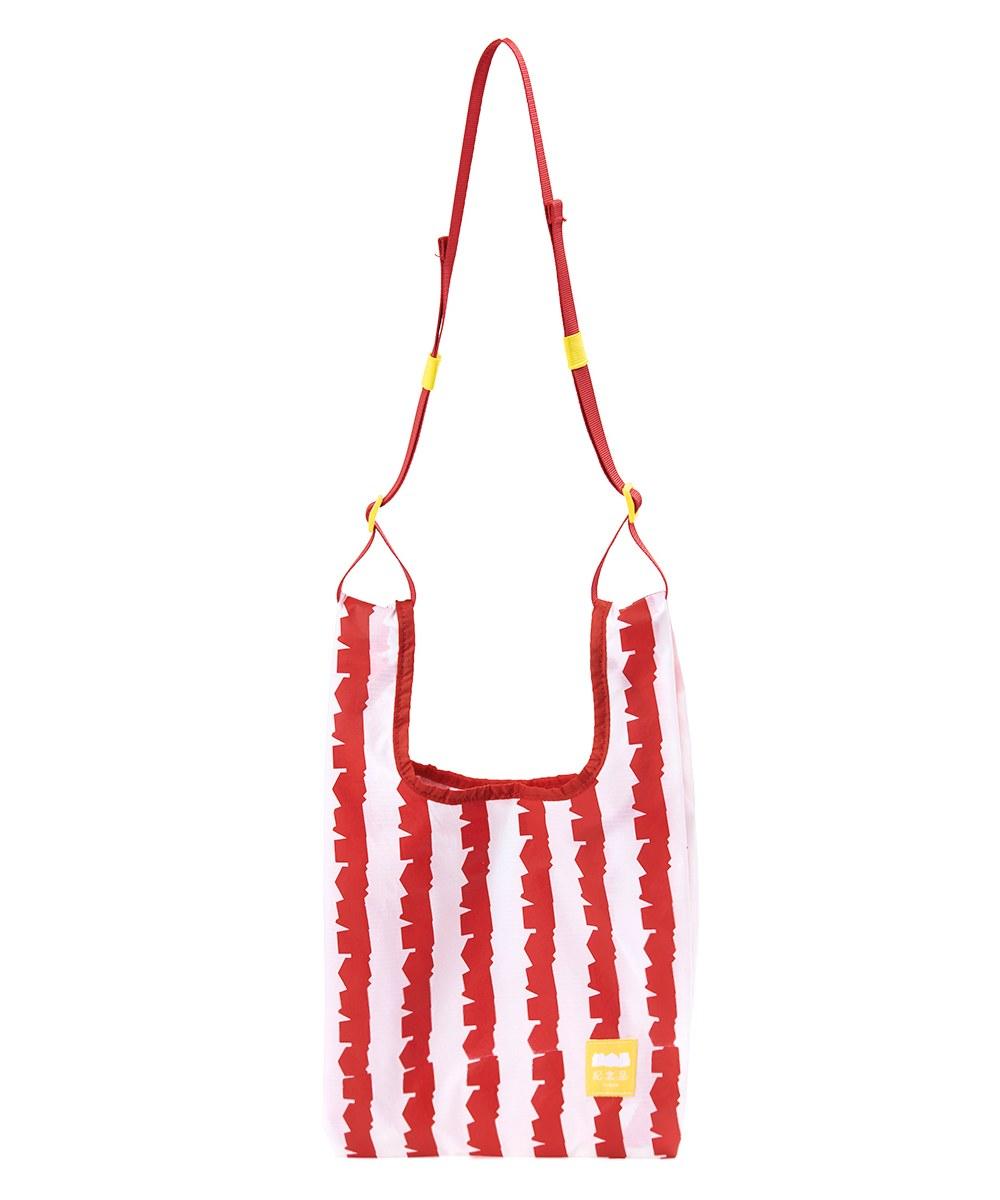 JNP2903 1斤の紅白Shopping袋