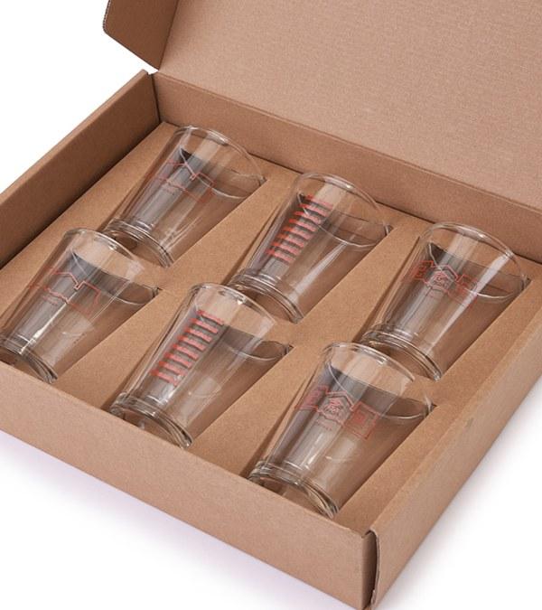 JNP3905 飲落去ㄅ璃杯禮盒