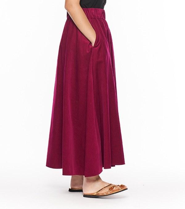 JSD4012 燈芯絨長裙