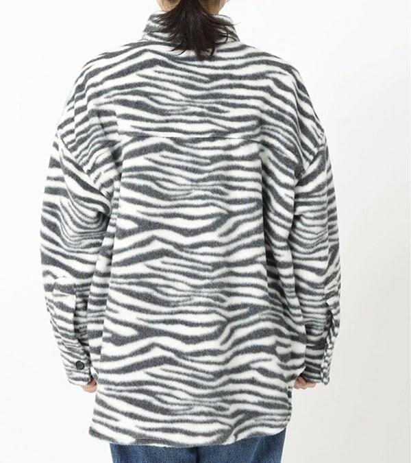 JSDW0205 斑馬迷彩羊絨襯衫