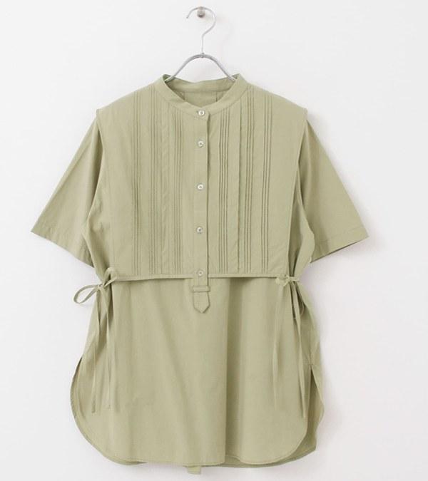 KBF0215 細褶層次感襯衫