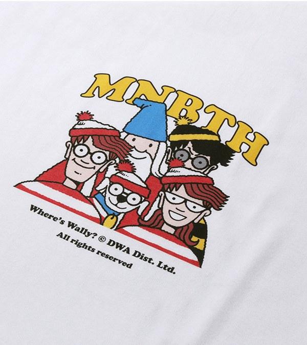 MBT0148 聯名圖案短TEE [MNBTH x Where is Wally?] Crew T-shirt