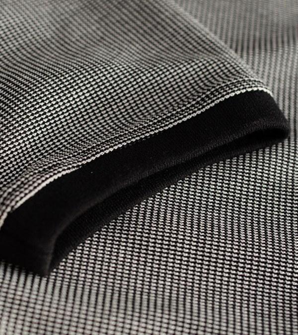 MCM9974 蜂巢針織八分袖上衣
