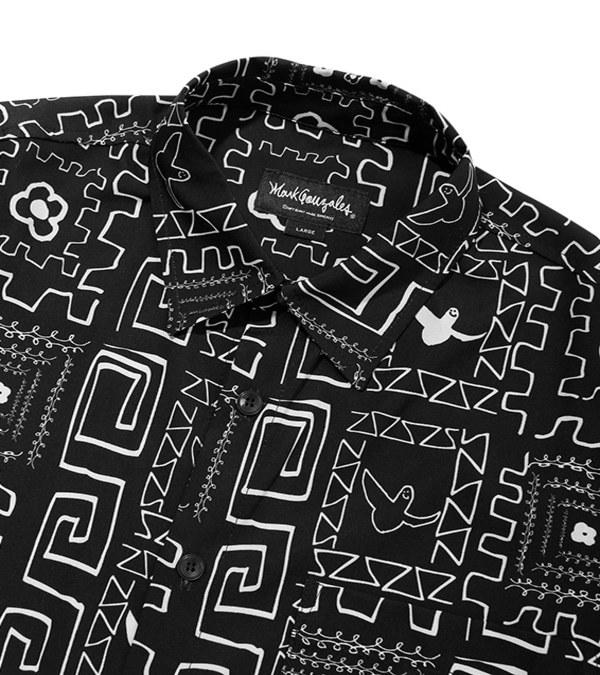 MGZ0203 M/G FLOWER PATTERN SHIRTS 印花襯衫