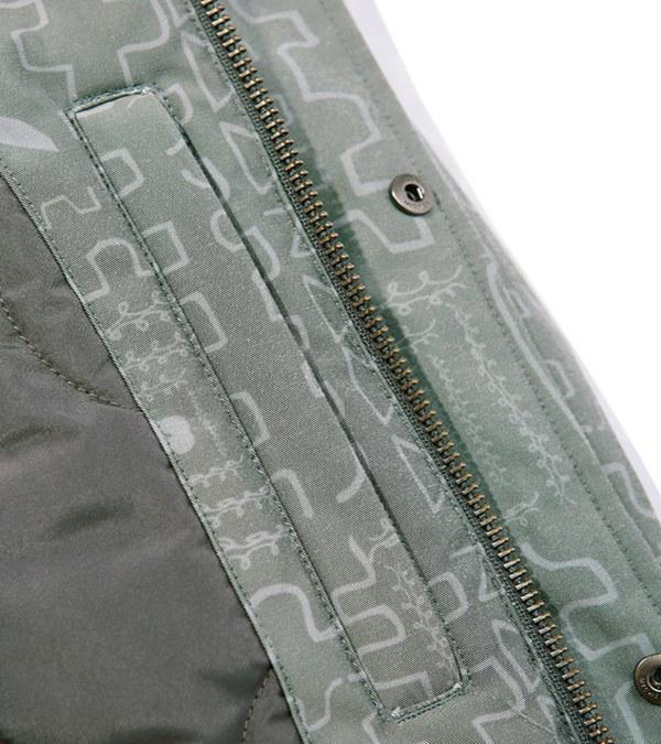MGZ1103 M/G TWO POCKET BLOUSON 雙口袋布勞森外套